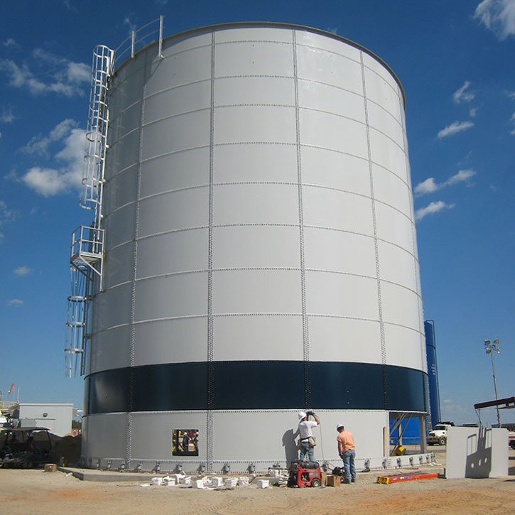 power utility storage tanks