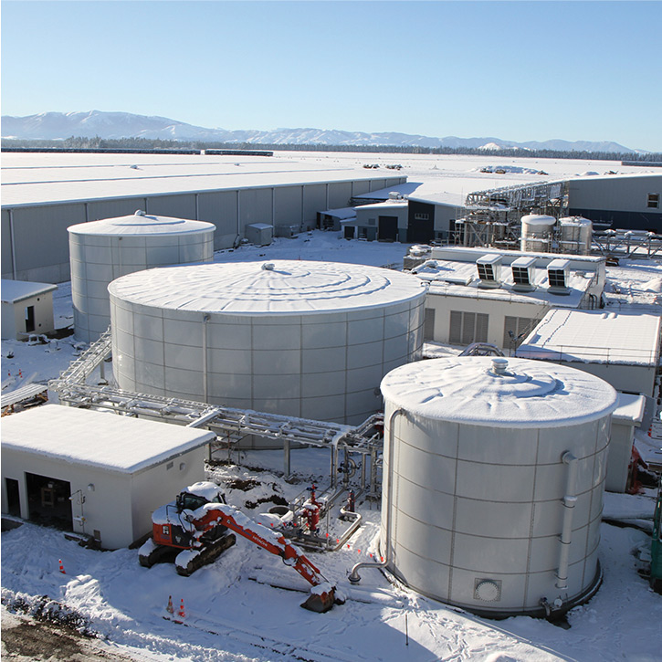 liquid chemical storage tanks